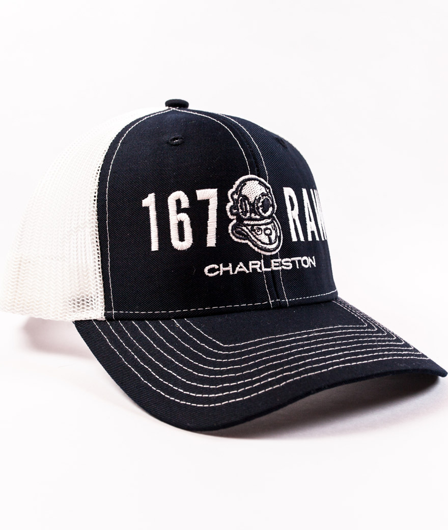 TRUCKER HAT – NAVY – 167 Raw d9cb7c1bea3